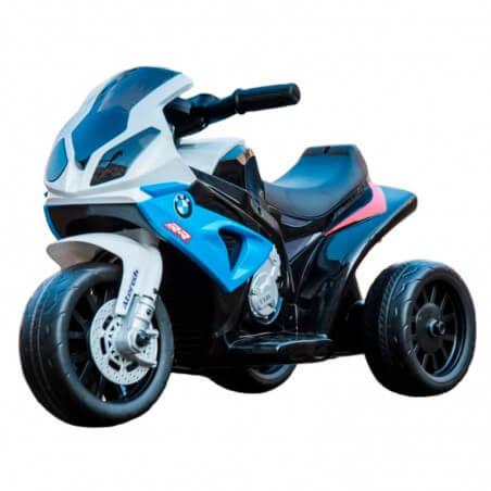 Moto com licença BMW 6v - Motocicleta elétrica para crianças