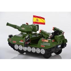 Militärische tank-Armee 12v ATAA CARS Erschöpft