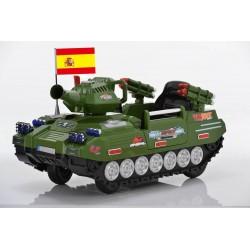 Tanque militar do exército controle remoto 12v carro eléctrico crianças Coches eléctricos para niños ATAA CARS esgotado