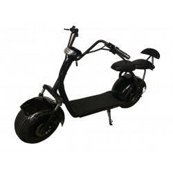 Scooter elétrico CityCoco dois lugares Black 60v ATAA CARS Scooters