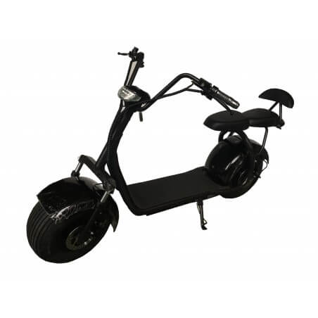 Scooter eléctrique CityCoco Biplace Black 60v