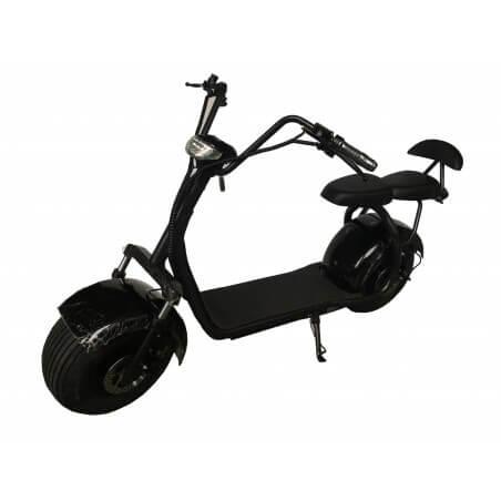 Scooter elétrico CityCoco dois lugares Black 60v