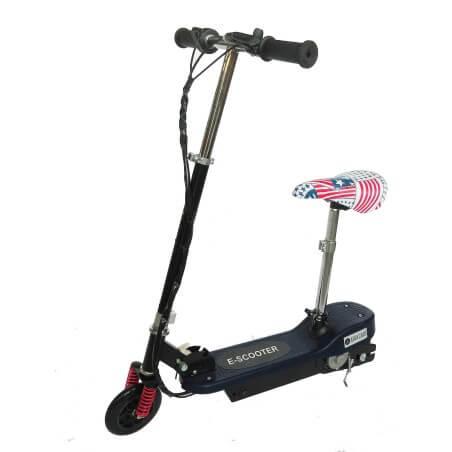 Scooter elétrico 24v com assento