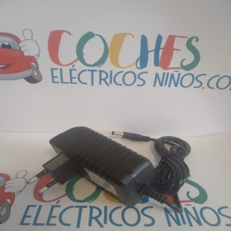 Cargador coche eléctrico para niños 12V