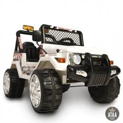 Estilo jeep 12v com controle