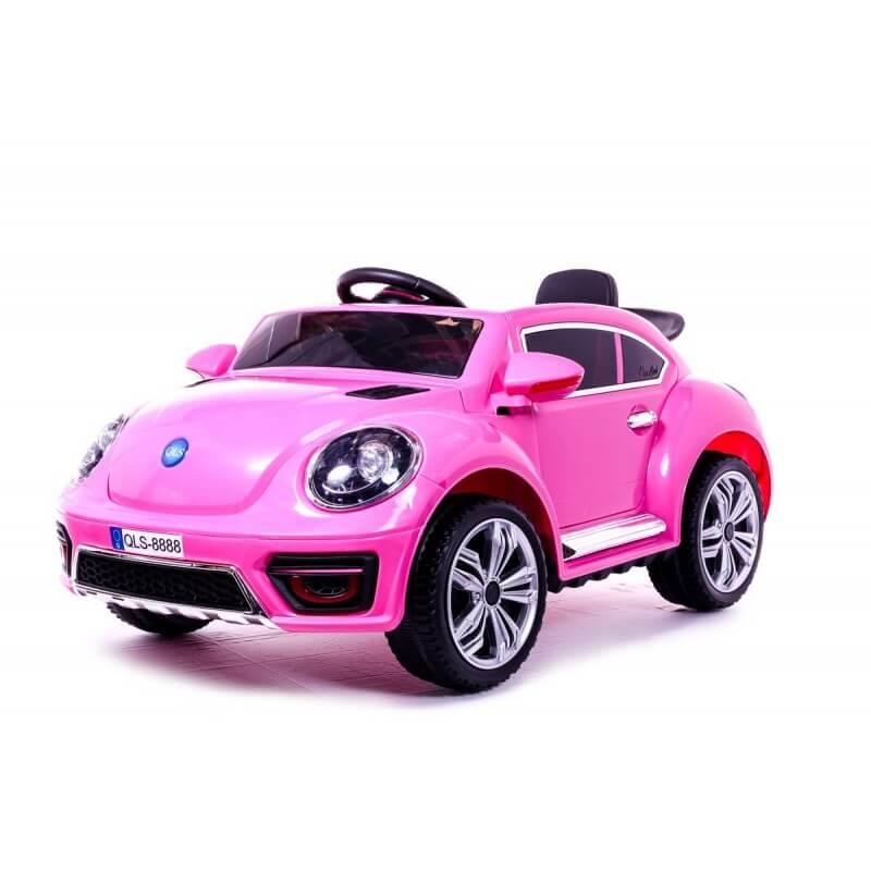 New Beetle 12v com mando rc carro eléctrico para crianças em portugal CochesEléctricosNiños esgotados