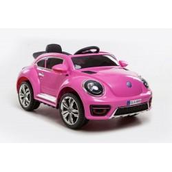 New Beetle 12v com mando rc carro eléctrico para crianças em portugal CochesEléctricosNiños 12 volts
