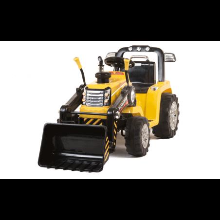 Tractor Pala infantil 12v Con mando barato