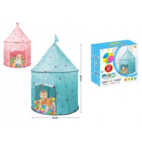 Castillo Príncipe - Princesa con bolas