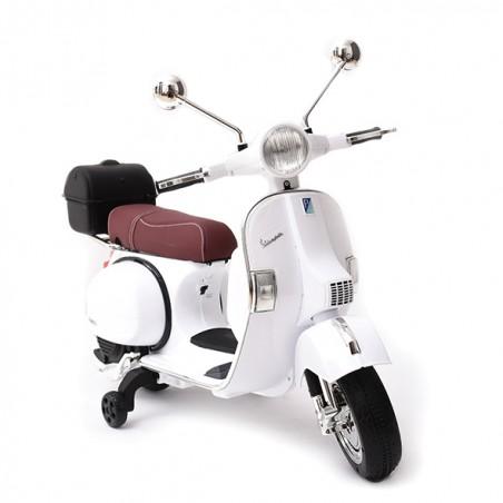 Moto VESPA oficial 12v elétrica para crianças licença Piaggio