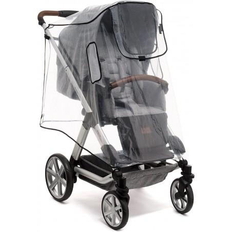 Protector de lluvia para triciclo, silla de paseo