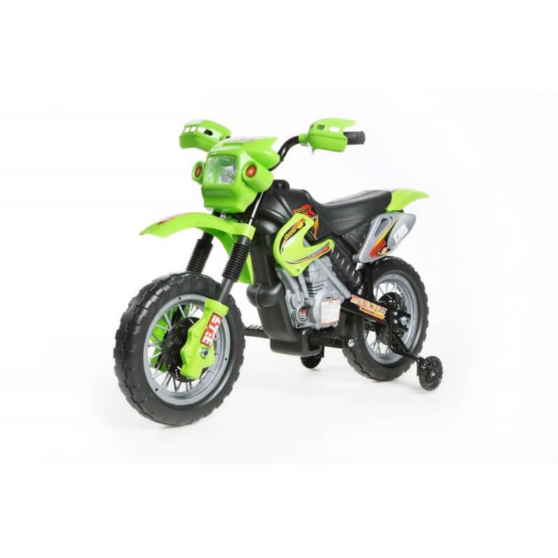 Mini Cross 6v - Moto eléctrica para niños con batería CochesEléctricosNiños Agotados