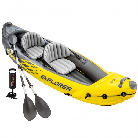 Kayak hinchable para adultos Explorer K2