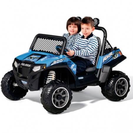 Polaris Ranger RZR 900 12v - Buggy eléctrico niños 2 plazas