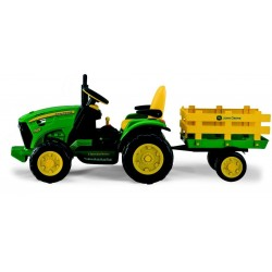 Tractor John Deree 12v -tractor eléctrico para niños a batería CochesEléctricosNiños Agotados