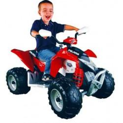 Quad Polaris Outlaw 12v para niños CochesEléctricosNiños Agotados
