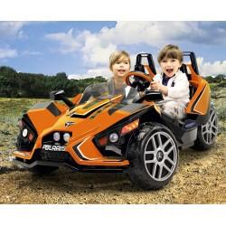 Polaris SlingShot biplace - buggy électrique deux places enfants 12v Peg-Pérego épuisé