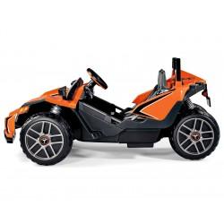 Polaris SlingShot Biplaza - buggy eléctrico niños dos plazas 12v Peg-Pérego Agotados