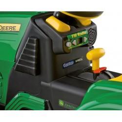 Escavadeira John Deere 12v - trator elétrico para crianças Peg-Pérego esgotado