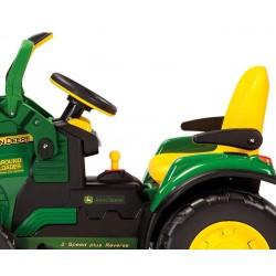 Bagger John Deere 12v - traktor, Peg-Pérego Erschöpft