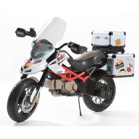 Ducati HyperCross Oficial 12v - moto eléctrica para niños a batería