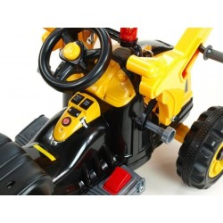 TRACTEUR ÉLECTRIQUE PELLE ROYAUME 12V MP3 POUR ENFANTS Coches eléctricos para niños ATAA CARS tracteurs