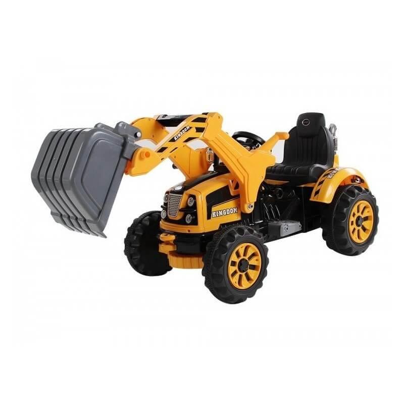 Excavadora KINGDOM 12v - Tractor eléctrico para niños Coches eléctricos para niños ATAA CARS Tractores