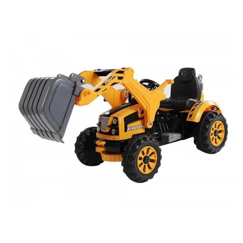 Puissant tracteur pelle lectrique pour les enfants la prestigieus - Cars et les tracteurs ...