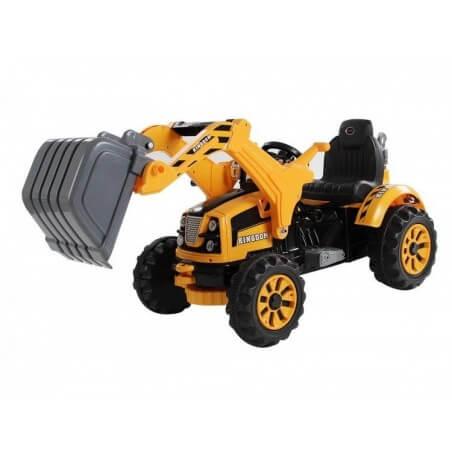 Escavadeira KINGDOM 12v - Trator elétrico para crianças