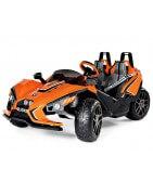 Carros elétricos operados por bateria para crianças com controle remot