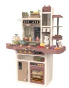 Cocinas de juguete infantiles para niños con Agua y Vapor PVC o madera