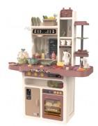 Cozinhas de brinquedo para crianças para crianças com Água e Vapor PVC ou madeira