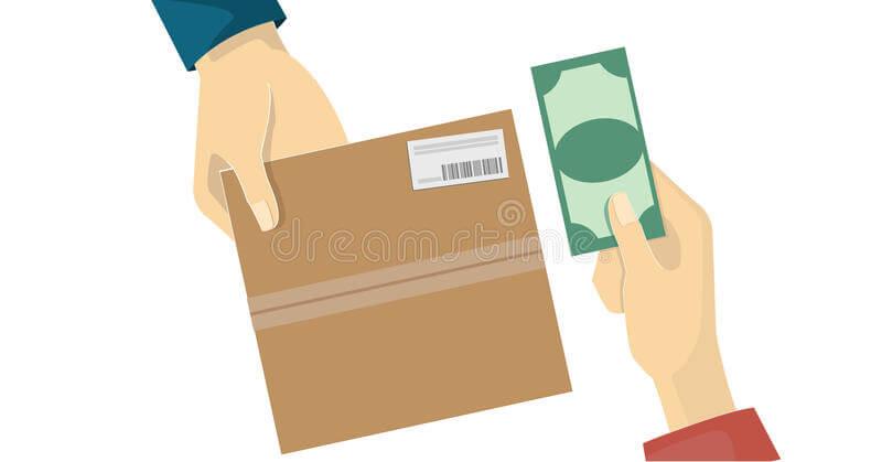 dinheiro na entrega